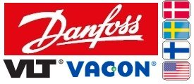 Danfoss VLT & Vacon Small Flags